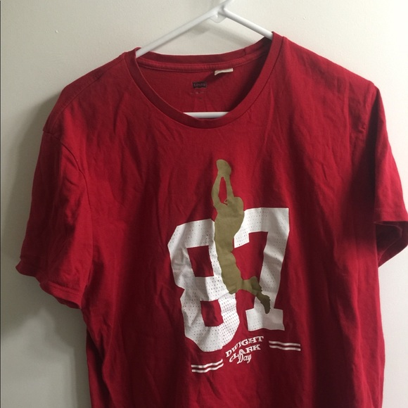 low priced 68188 7acd4 San Francisco 49ers Dwight Clark Day #87 Shirt